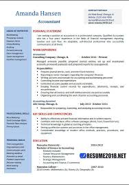 resume exles for accounting accountant resume exles 2018 resume 2018