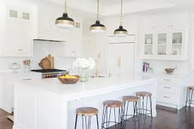 torquay quartz kitchen countertops with steel sink and brass