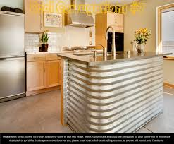 repurposed kitchen island cool corrugations metal roof sheeting decorator ideas sparkling