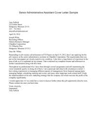 job application letter for administrative assistant cover letters