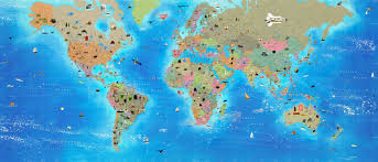 Online World Map by World Map Interactive Roundtripticket Me