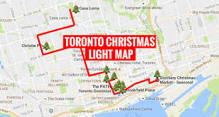 Brookfield Place Map Here U0027s A Map To Finding The Most Magical Christmas Lights In