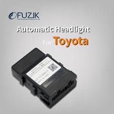 toyota corolla battery light fuzik car auto headlight sensor automatic turn on light response