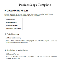 project scope template powerpoint project scope presentation