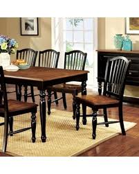 Black Dining Table With Leaf Amazing Cyber Monday Savings On Mayville Collection Cm3431t 60