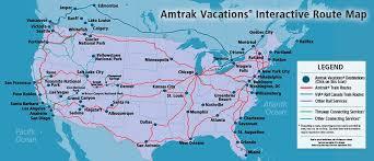 map of us and canada map us rail network burlington northern u0027s u s rail network
