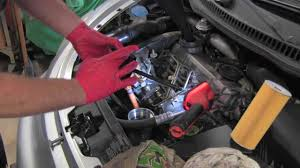 volkswagen tdi engine oil change youtube
