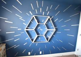 star wars shelf and hyperspace wall her tool belt