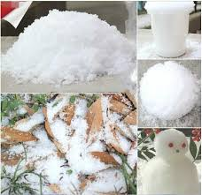 snow decoration christmas decoration instant snow magic prop diy instant artificial