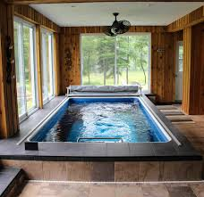 an indoor endless pool can easily be used year round it u0027s for