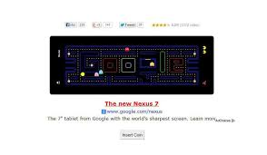 doodle pacman 16 to kill your productivity