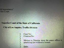 sample motion to dismiss now available youtube