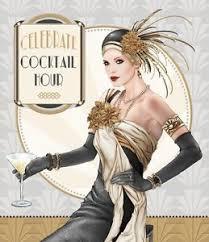 debbi moore art deco 1920s lady celebrate the cocktail hour