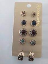 clip on earrings accessorize accessorize gold costume earrings ebay