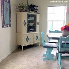 50 craigslist kitchen table makeover