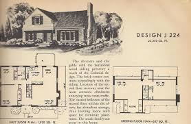 floor plans for 2 story homes vintage house plans 1954 1 1 2 story homes antique alter ego