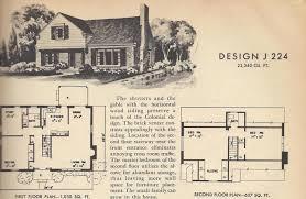 vintage house plans 1954 1 1 2 story homes antique alter ego