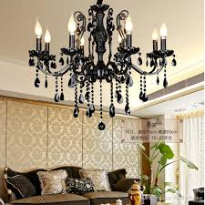 modern luxury crystal chandelier dining room bohemian crystal