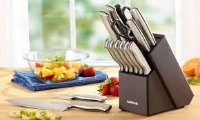 farberware kitchen knives farberware stainless steel 15 piece knife set walmart com