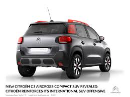 new citroën c3 aircross compact suv revealed myautoworld com