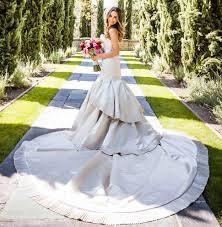 hem wedding dress how to keep your hem clean at an outdoor wedding inside weddings