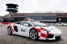 police lamborghini aventador lamborghini aventador at bologna airport gtspirit