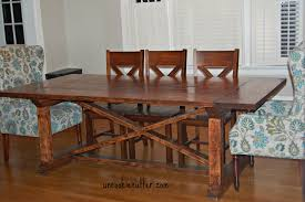 ana white dining room table diy table with a removable top