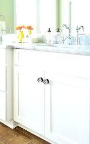 Bathroom Cabinet Hardware Ideas Bathroom Cabinet Hardware Chaseblackwell Co