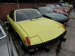 porsche 914 yellow porsche 914 geel 2 ltr joop stolze classic cars