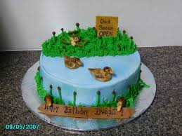 duck hunting cake cakecentral com