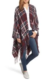 15 trendy plaid capes for thanksgiving dinner winter