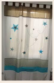 rideaux pour chambre bébé rideau personnalisé kasmiliecreation