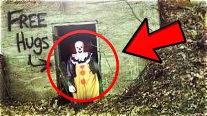 top 15 scariest clown sightings caught on youtube creepiest