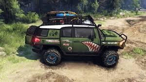 fj cruiser car fj cruiser green for spin tires