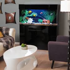 laguna series rectangular wood aquarium stand with optional canopy