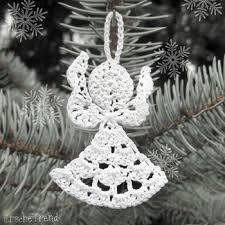 12 free ornament crochet patterns