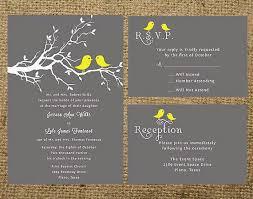bird wedding invitations best 25 grey wedding invitation sets ideas on