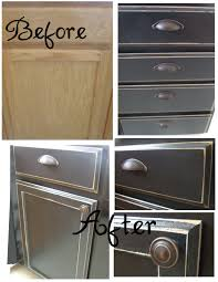 kitchen cupboard makeover step by step tutorial on how she