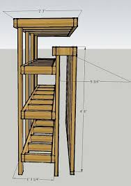 Storage Shelf Woodworking Plans by Best 25 Lumber Storage Ideas On Pinterest Wood Storage Rack