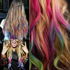Colored Hair Extension by Popular Chalk Colored Hair Buy Cheap Chalk Colored Hair Lots From