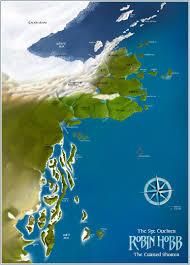Narnia Map The Monday Map Fantasy Book Maps Hejorama