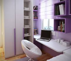 amazing teen room designs nuanced in cute purple and equipped with