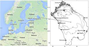 netherlands location in europe map map of europe showing the location of lake ladoga and lake ladoga