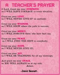 enjoy teaching a s prayer