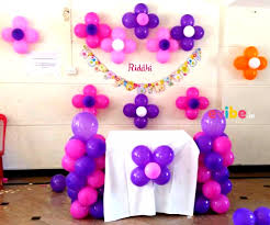 balloon decoration for birthday at home decoration for birthday party at home images spurinteractive com
