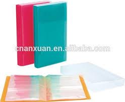 plastic photo album various color plastic hanging file folder photo book holder photo