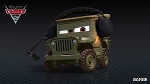 jeep army green meet the characters of u0027cars 2 u0027 u2013 film