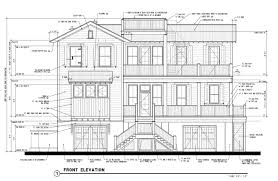 House Elevations by House Plans With Pictures Home Design Ideas Townhouse Elevation