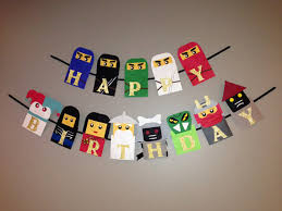 ninjago party supplies ninjago birthday banner ninjago birthday ninjago party