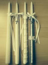 baptismal candles baptism candles i like the idea of a wrapped candle with the